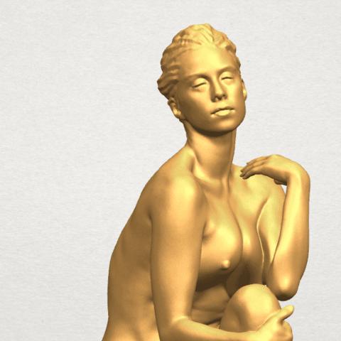 TDA0463 Naked Girl 17 A08.png Download free STL file Naked Girl 17 • Design to 3D print, GeorgesNikkei