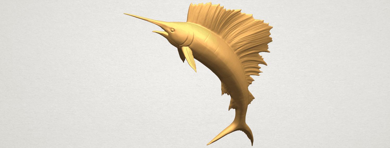 TDA0572 Swordfish 02 A06.png Télécharger fichier STL gratuit Espadon 02 • Objet pour impression 3D, GeorgesNikkei