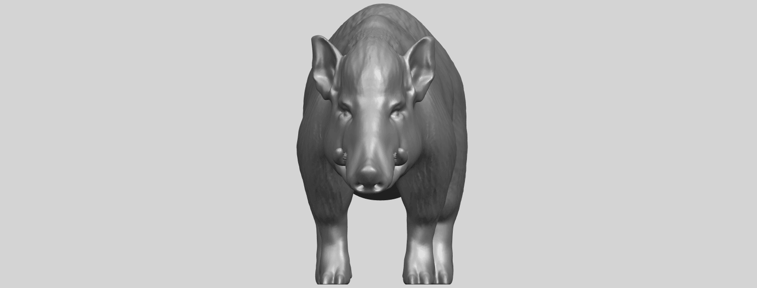 13_TDA0320_Pig_ii_A09.png Download free STL file Pig 02 • 3D printable object, GeorgesNikkei