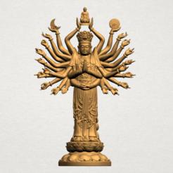 Télécharger fichier imprimante 3D gratuit Avalokitesvara Bodhisattva (multi-mains) (i), GeorgesNikkei