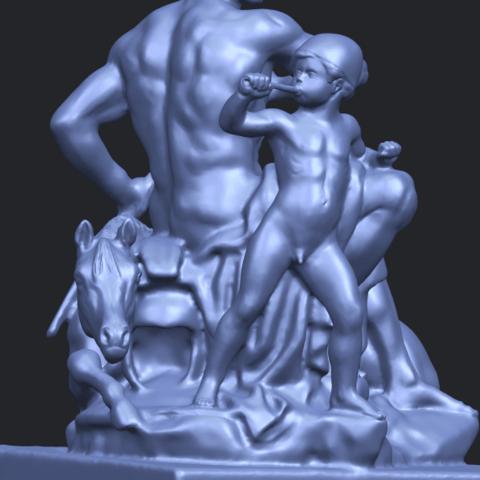 05_TDA0220_Father_and_Son_(ii)_88mmA10.png Télécharger fichier STL gratuit Père et Fils 02 • Plan à imprimer en 3D, GeorgesNikkei