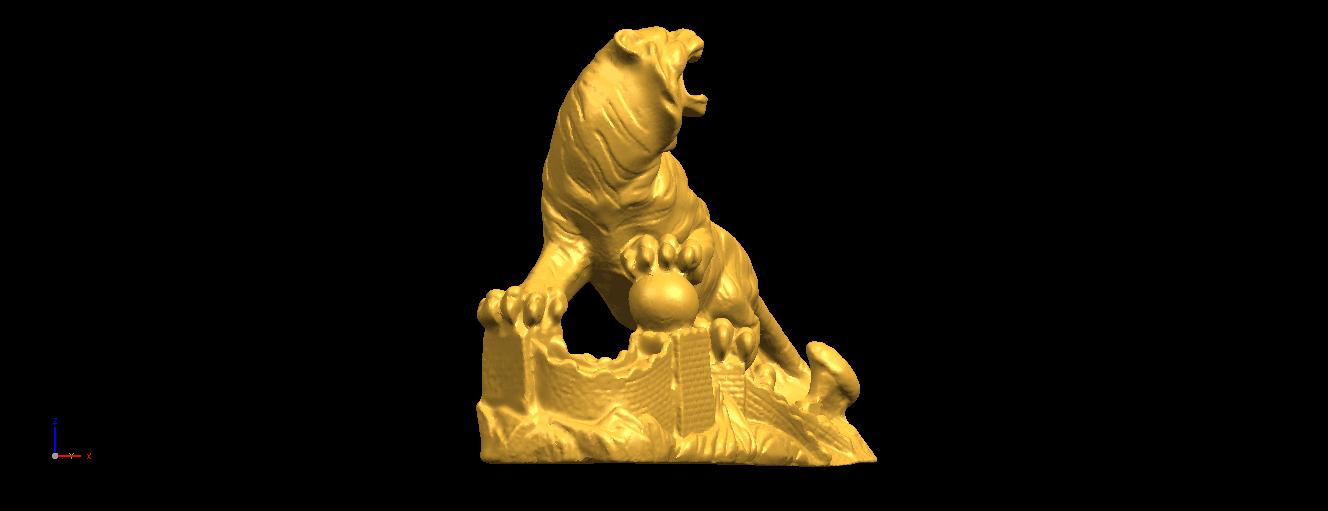 12.png Télécharger fichier STL gratuit Tigre de Sibérie • Objet imprimable en 3D, GeorgesNikkei
