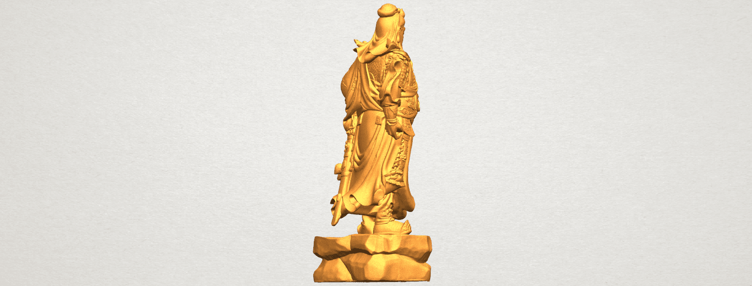 TDA0330 Guan Gong (iii) A05.png Download free STL file Guan Gong 03 • 3D printable template, GeorgesNikkei