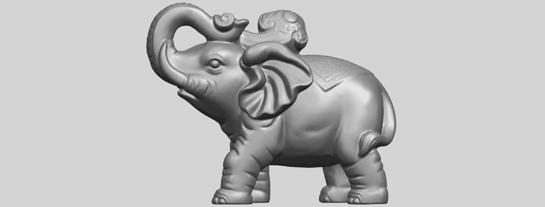 09_Elephant_02_150mmA04.png Télécharger fichier STL gratuit Eléphant 02 • Plan imprimable en 3D, GeorgesNikkei