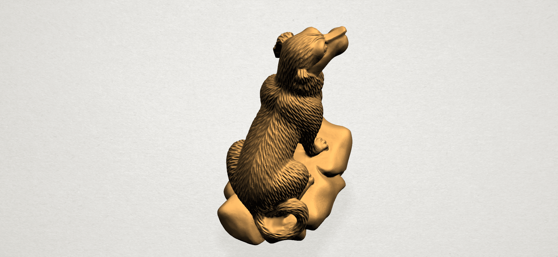 ZChinese Horoscope11-A04.png Download free STL file Chinese Horoscope 11 Dog • 3D print design, GeorgesNikkei