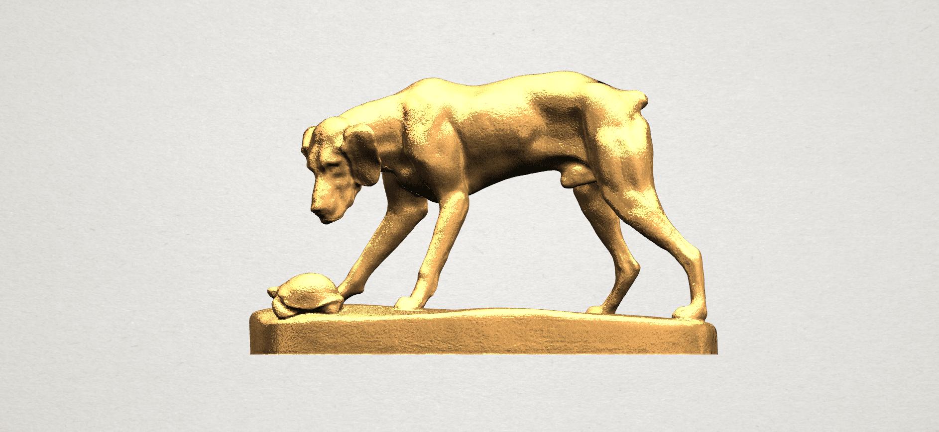Dog (i) A01.png Télécharger fichier STL gratuit Chien 01 • Plan pour impression 3D, GeorgesNikkei