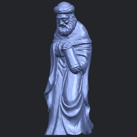26_Sculpture_of_Arabian_88mm-B01.png Download free STL file Sculpture of Arabian • 3D print template, GeorgesNikkei