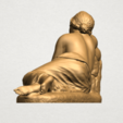 Naked Girl - Lying on Side - A04.png Download free STL file Naked Girl - Lying on Side • 3D printer template, GeorgesNikkei