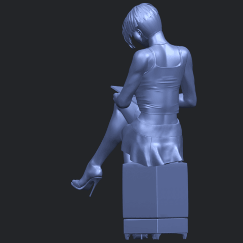 19_TDA0471_Beautiful_Girl_05_B05.png Download free STL file Beautiful Girl 05 • 3D printing template, GeorgesNikkei