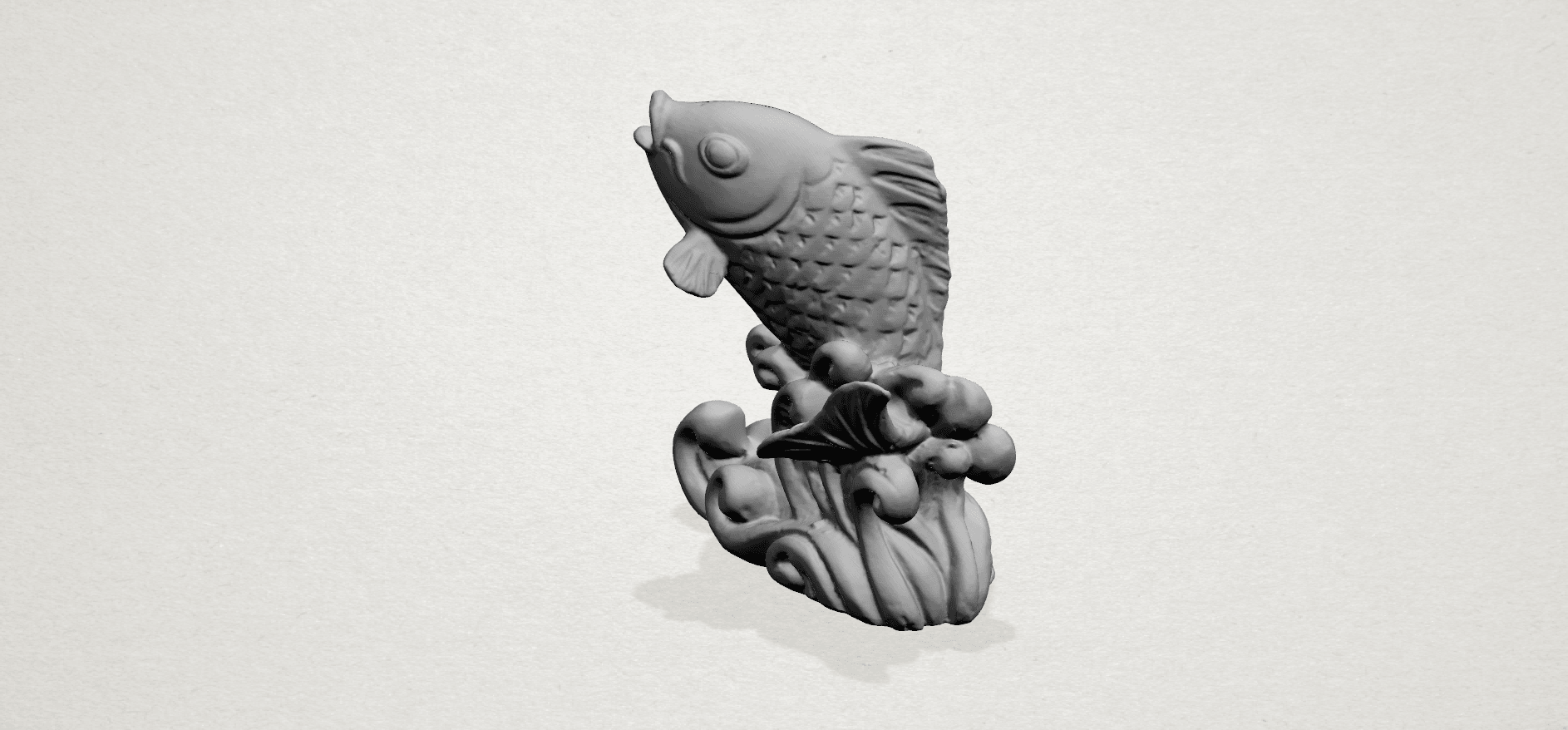 Fish -A03.png Télécharger fichier STL gratuit Poisson 01 • Objet pour impression 3D, GeorgesNikkei
