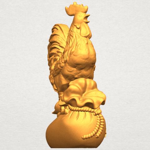 TDA0321 Cock A06.png Télécharger fichier STL gratuit Coq 01 • Design pour impression 3D, GeorgesNikkei