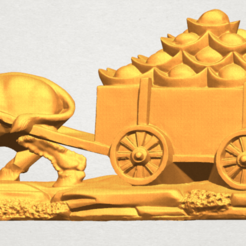 Free 3d printer designs Golden Car, GeorgesNikkei