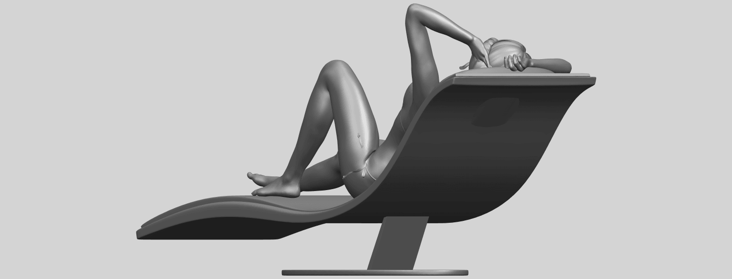 TDA0743_Sexy_Girl_13-Lye_on_ChairA08.png Download free STL file Sexy Girl 13 - Lye on Chair • 3D printer design, GeorgesNikkei