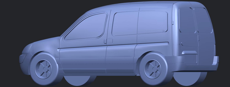 TDB002_1-50A02.png Download free STL file Citroen Berlingo Belgium Post • Design to 3D print, GeorgesNikkei