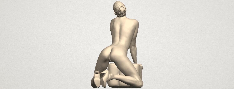 TDA0290 Naked Girl B07 03.png Télécharger fichier STL gratuit Fille Nue B07 • Objet pour imprimante 3D, GeorgesNikkei