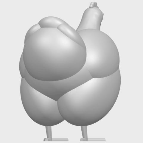 17_TDA0484_HenA07.png Télécharger fichier STL gratuit Poule • Design pour imprimante 3D, GeorgesNikkei