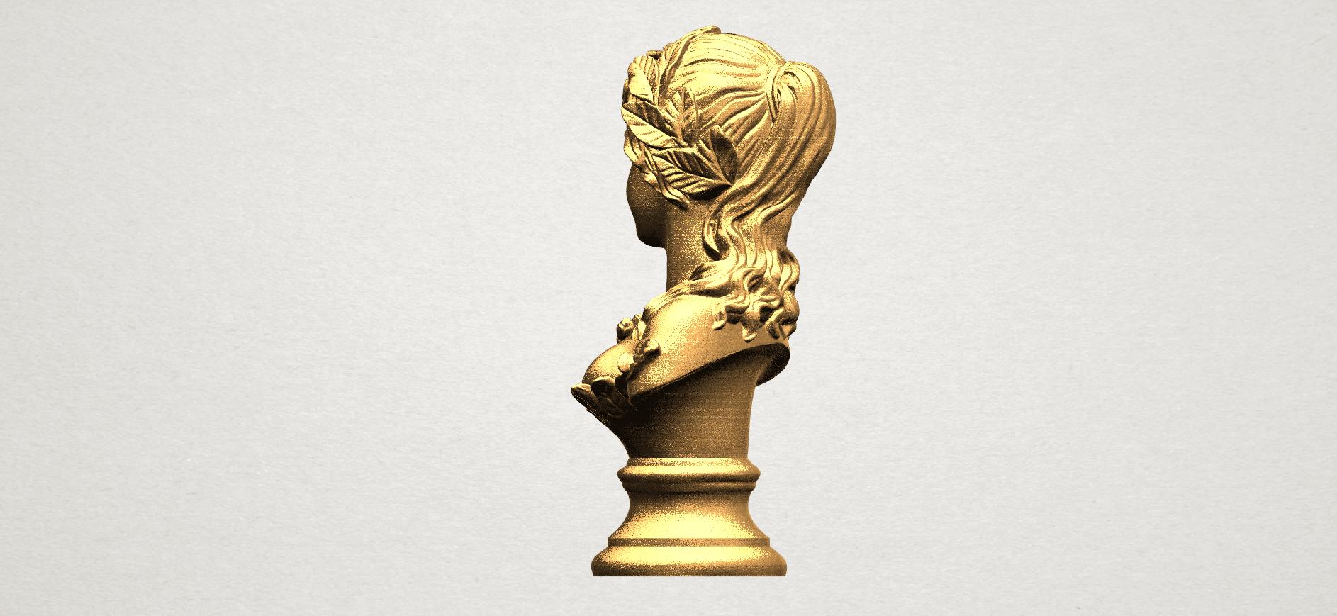 Bust of Venus 80mm - A04.png Download free STL file Bust of Venus • 3D print model, GeorgesNikkei
