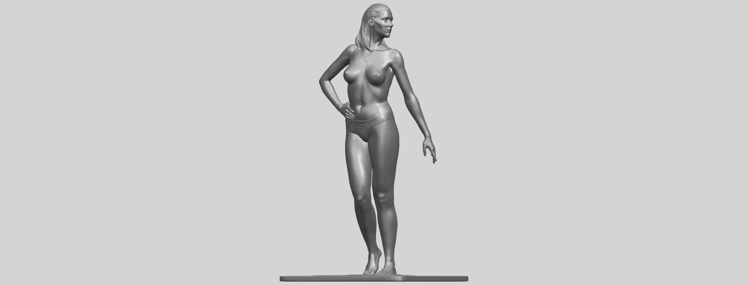 11_TDA0465_Naked_Girl_19_ex800A02.png Download free STL file Naked Girl 19 • 3D printer template, GeorgesNikkei