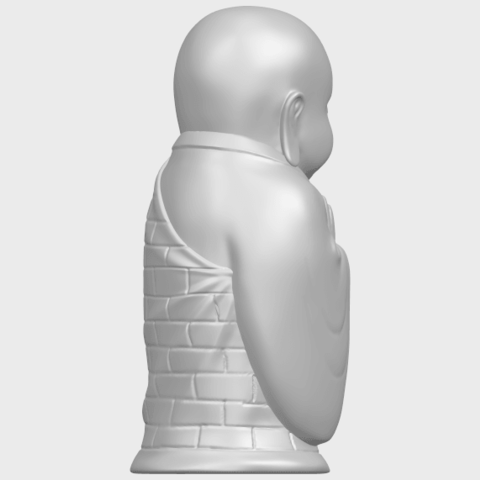 Little_Monk_80mmA08.png Download free STL file Little Monk 01 • 3D printable design, GeorgesNikkei