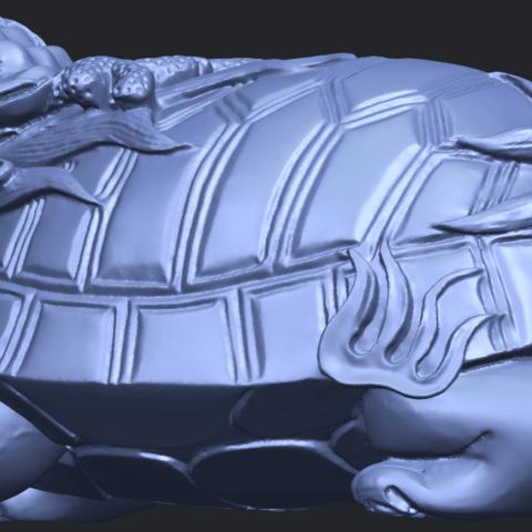 01_TDA0333_Dragon_TortoiseB02.png Télécharger fichier STL gratuit Tortue dragon • Objet imprimable en 3D, GeorgesNikkei