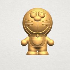 stl file Doraemon, Miketon