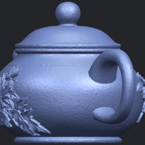 02_TDA0324_Tea_Pot_iiiB03.png Download free STL file Tea Pot 03 • 3D printing template, GeorgesNikkei
