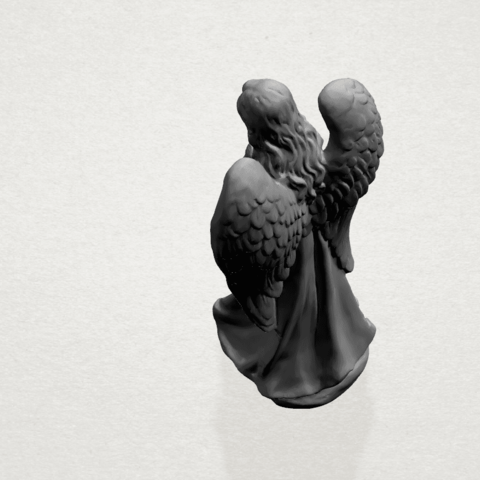 Angel C06.png Download free STL file Angel 01 • 3D printer object, GeorgesNikkei