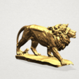 Free 3D printer files Lion 02, GeorgesNikkei