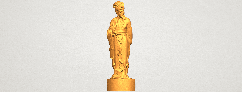 TDA0342 Zhu Ge Liang Kong Ming A01.png Télécharger fichier STL gratuit Zhu Ge Liang Kong Ming Kong Ming • Modèle imprimable en 3D, GeorgesNikkei