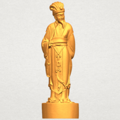 TDA0342 Zhu Ge Liang Kong Ming A01.png Download free STL file Zhu Ge Liang Kong Ming • 3D printer object, GeorgesNikkei