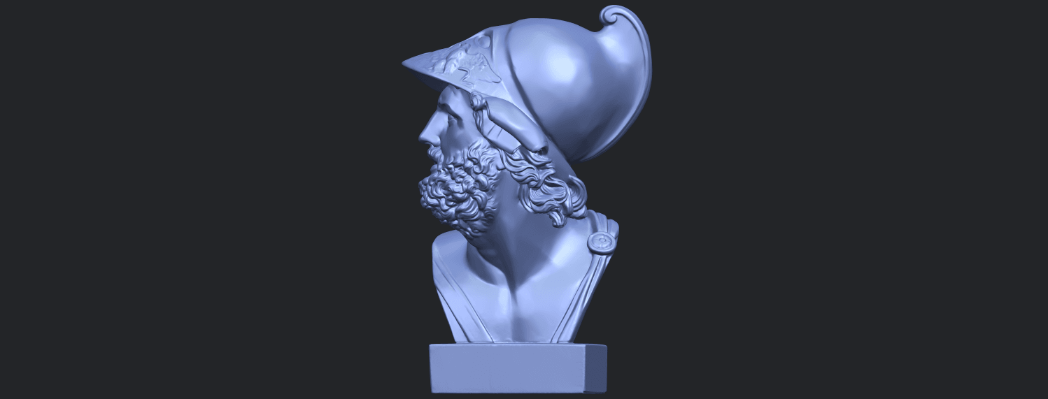 14_TDA0244_Sculpture_of_a_head_of_manB03.png Download free STL file Sculpture of a head of man • 3D printable design, GeorgesNikkei