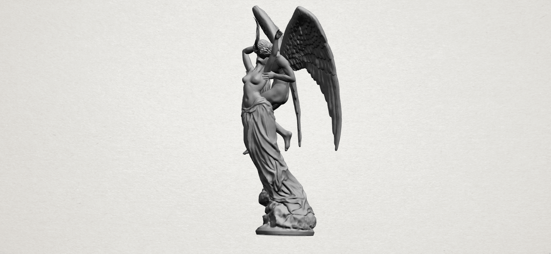 Angel and devil - A04.png Download free 3DS file Angel and devil • 3D print template, GeorgesNikkei