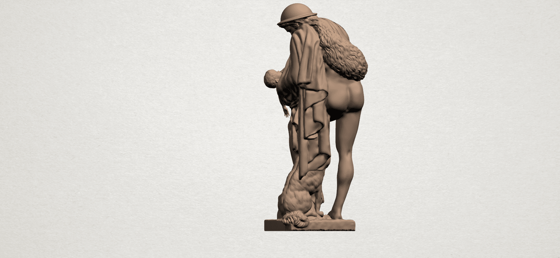 Father and Son (iii) A04.png Download free STL file Father and Son 3 • 3D print model, GeorgesNikkei