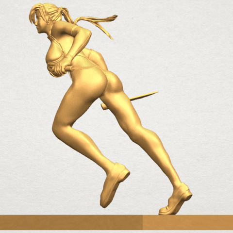 TDA0586 Sexy Girl 09 A02.png Download free STL file Sexy Girl 09 • 3D printing template, GeorgesNikkei