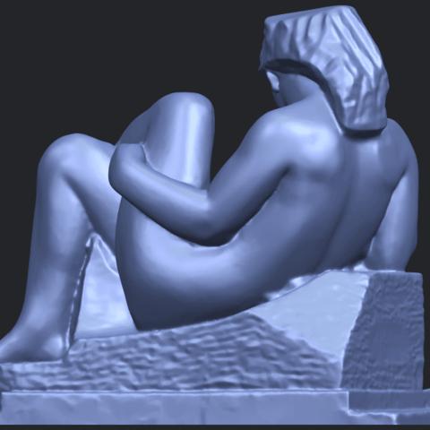 20_TDA0170_Naked_Girl_(xiii)_88mmB07.png Download free STL file Naked Girl 13 • 3D print design, GeorgesNikkei