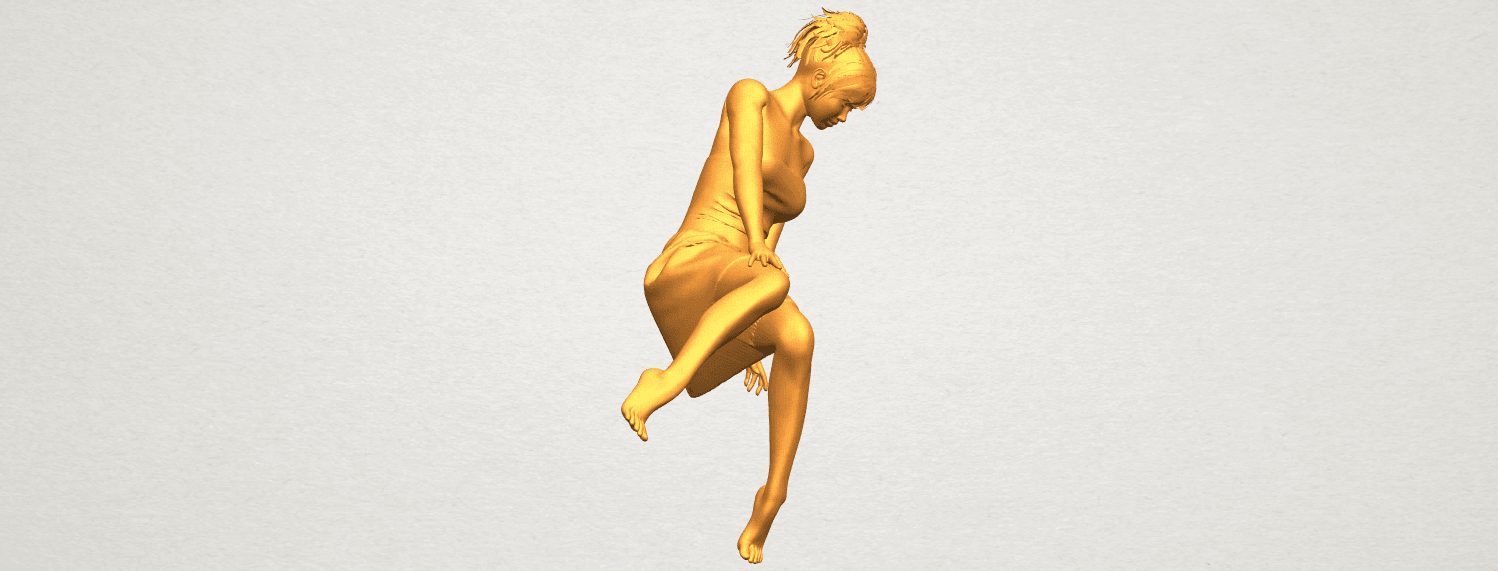 A01.png Download free STL file Naked Girl E06 • 3D printer object, GeorgesNikkei