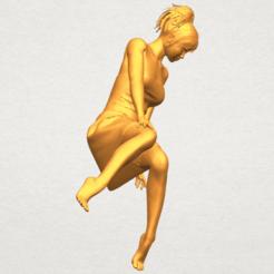 Naked Girl E06 3D model, Miketon