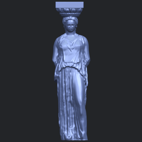 19_Pose_with_Girl_80mmB01.png Download free STL file Pose with Girl • 3D printable template, GeorgesNikkei