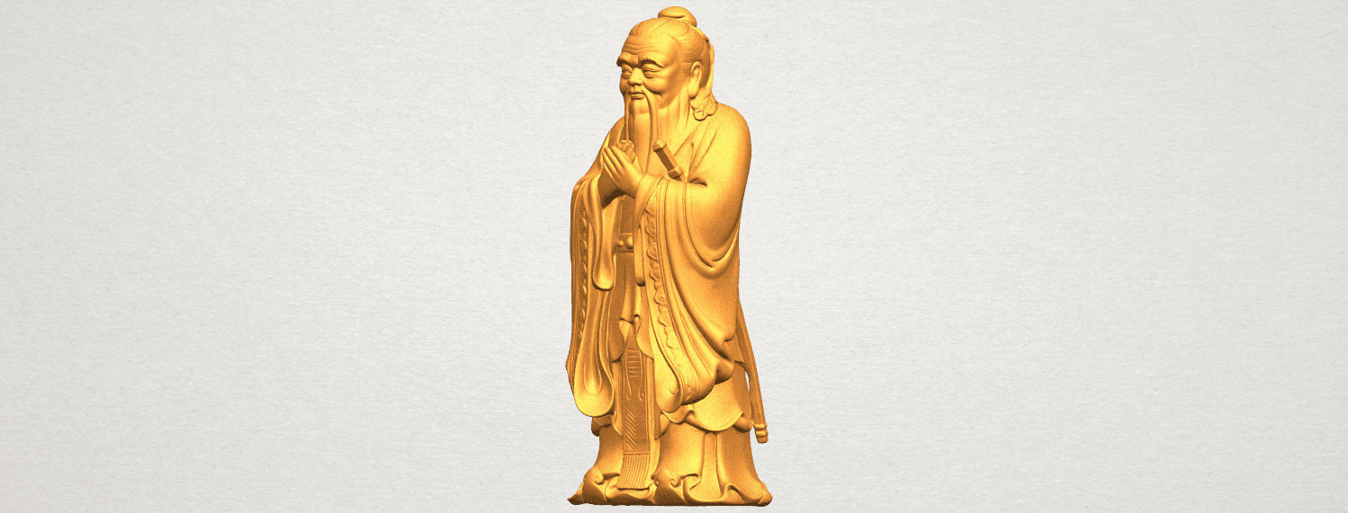 TDA0341 Confucius A02.png Download free STL file Confucius • 3D printable model, GeorgesNikkei