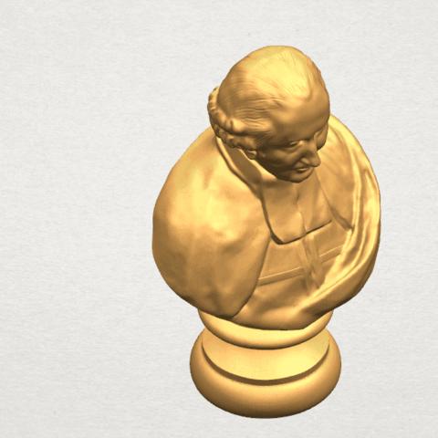 TDA0620 Sculpture of a head of man 02 A07.png Télécharger fichier STL gratuit Sculpture d'une tête d'homme 02 • Design à imprimer en 3D, GeorgesNikkei