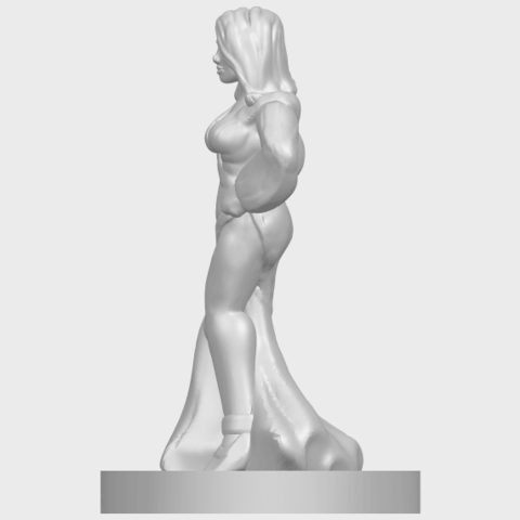 12_TDA0160_Beautiful_Anime_Girls_05_-_88mmA04.png Download free STL file Beautiful Anime Girl 05 • Template to 3D print, GeorgesNikkei