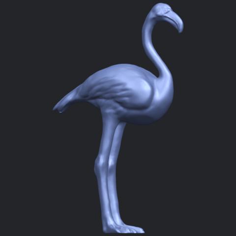 04_TDA0597_Flamingo_01B07.png Download free STL file Flamingo 01 • 3D printing model, GeorgesNikkei