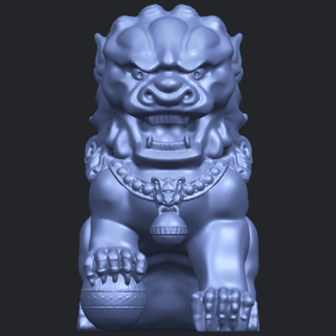 04_TDA0500_Chinese_LionB01.png Download free STL file Chinese Lion • 3D printing object, GeorgesNikkei