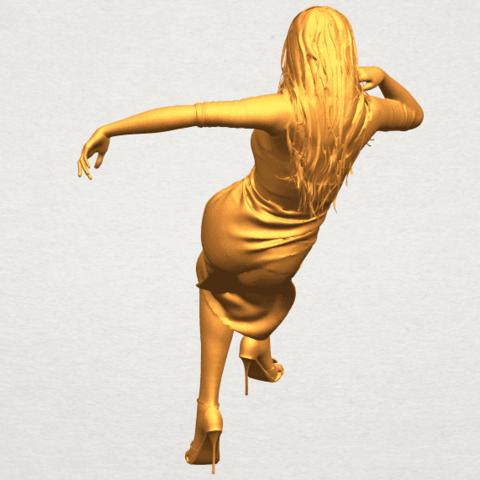 A05.png Download free STL file Naked Girl I01 • 3D print object, GeorgesNikkei