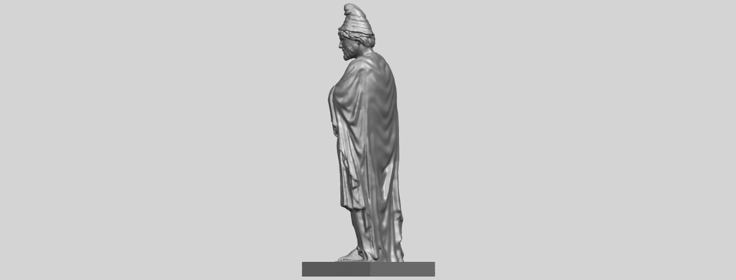 17_TDA0266_Tiridates_I_of_ArmeniaA05.png Download free STL file Tiridates I of Armenia • 3D print model, GeorgesNikkei