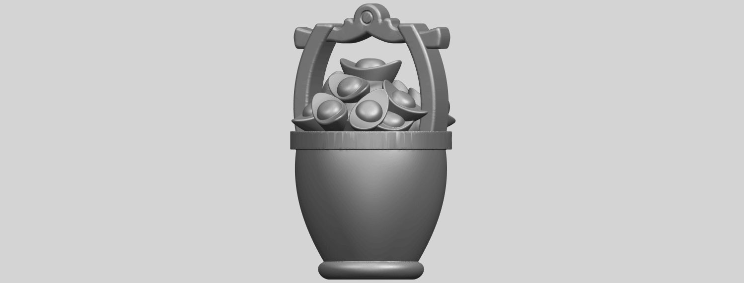 13_TDA0502_Gold_in_BucketA02.png Download free STL file Gold in Bucket • 3D print object, GeorgesNikkei