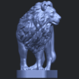 02_TDA0313_Lion_(iii)B09.png Download free STL file Lion 03 • 3D printable template, GeorgesNikkei