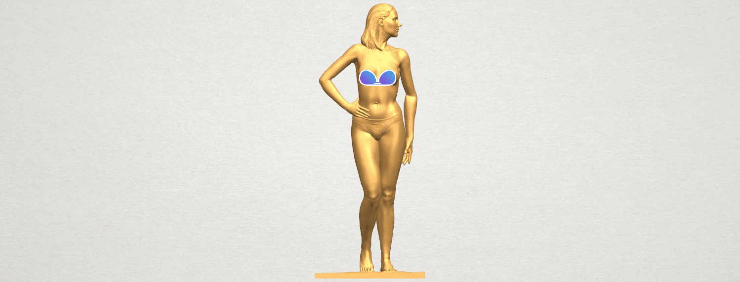 TDA0465 Naked Girl 19 A01 - Copy.png Download free STL file Naked Girl 19 • 3D printer template, GeorgesNikkei