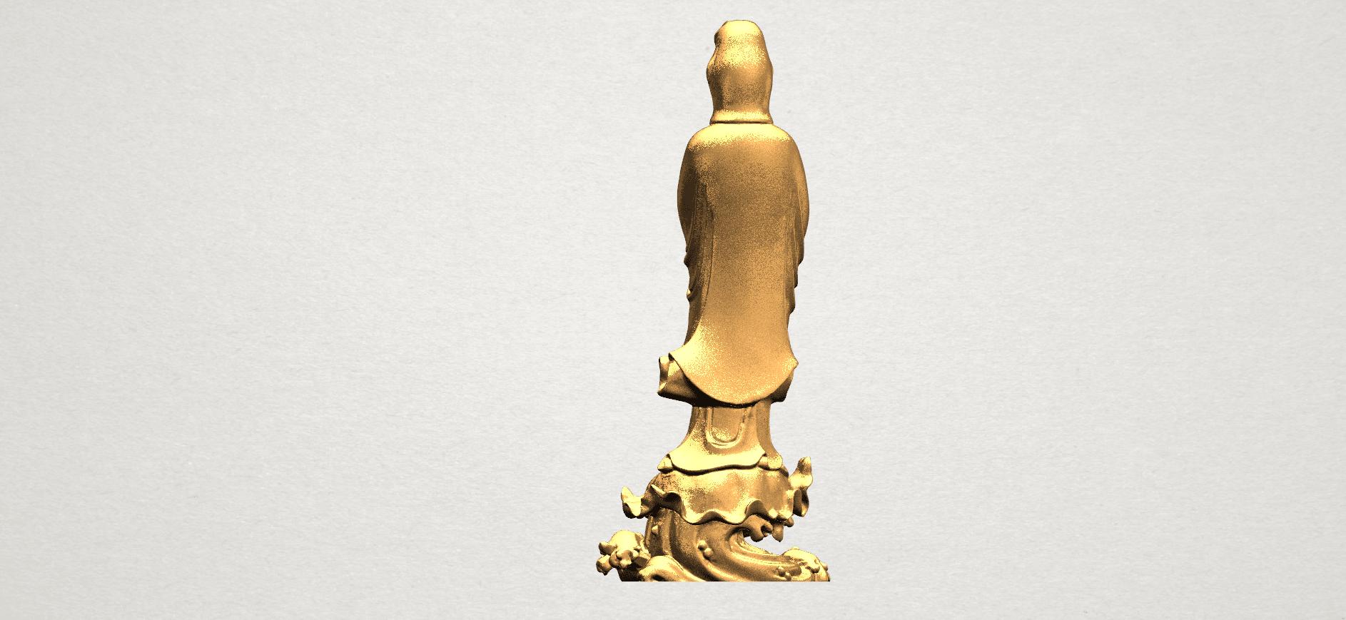 Avalokitesvara Buddha - Standing (v) A06.png Download free STL file Avalokitesvara Buddha - Standing 05 • 3D printer template, GeorgesNikkei