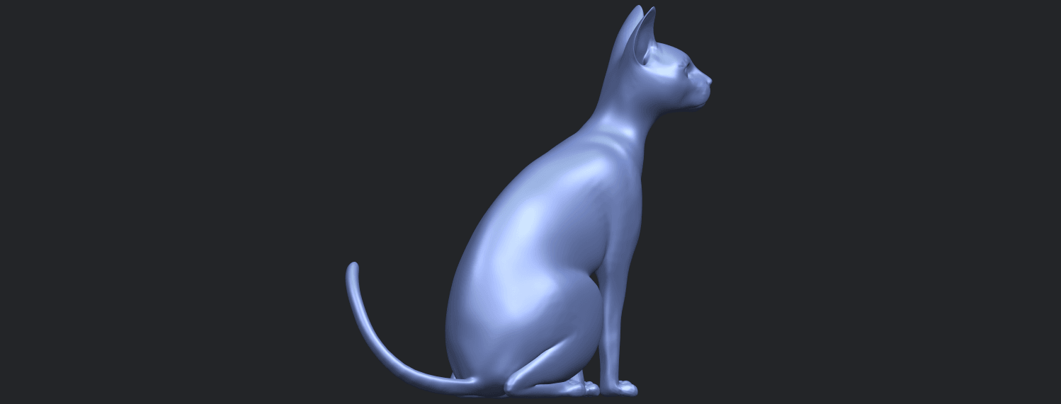 02_TDA0576_Cat_01B08.png Download free STL file Cat 01 • Design to 3D print, GeorgesNikkei